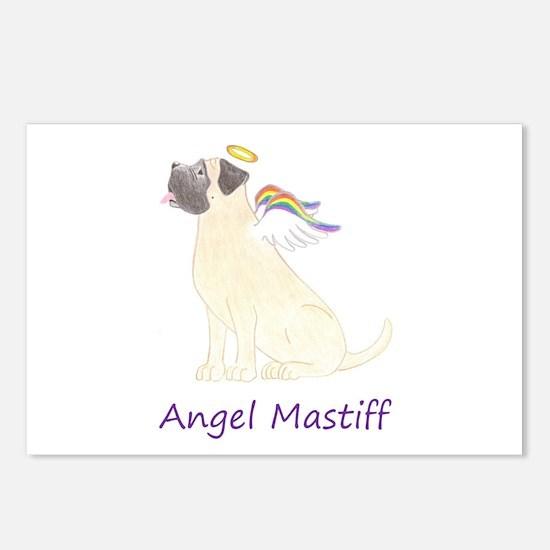 Angel Mastiff Postcards (Package of 8)
