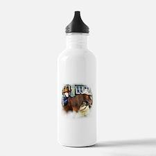 4-H Cowboy (fuzzy edged) Water Bottle