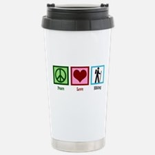 Peace Love Hiking Stainless Steel Travel Mug