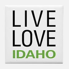Live Love Idaho Tile Coaster