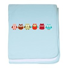 Cute Hoot baby blanket