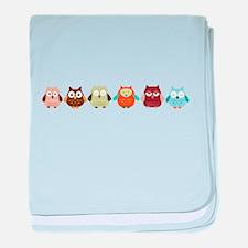 Cute Hoot baby blanket