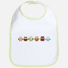 Cute Hoot Bib