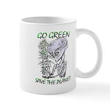 GO GREEN...SAVE THE PLANET Mug