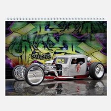 Rat Rod Wall Calendar 1