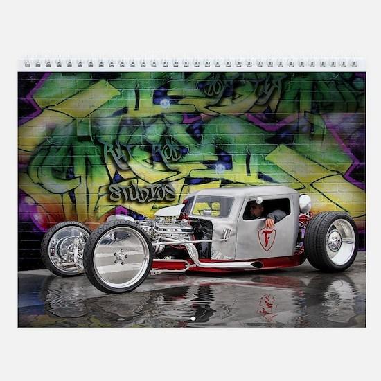 Rat Rod Wall Calendar 1