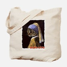 Cat VERMEER EARRING Tote Bag