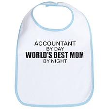 World's Best Mom - Accountant Bib