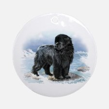 Newfoundland Ornament (Round)