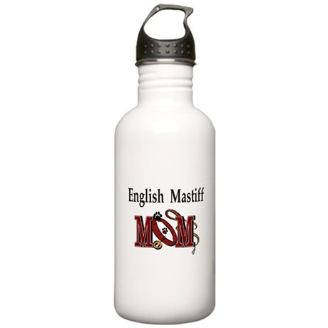 English Mastiff Mom Stainless Water Bottle 1.0L