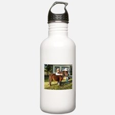 4-H Straw hat Cowgirl Water Bottle