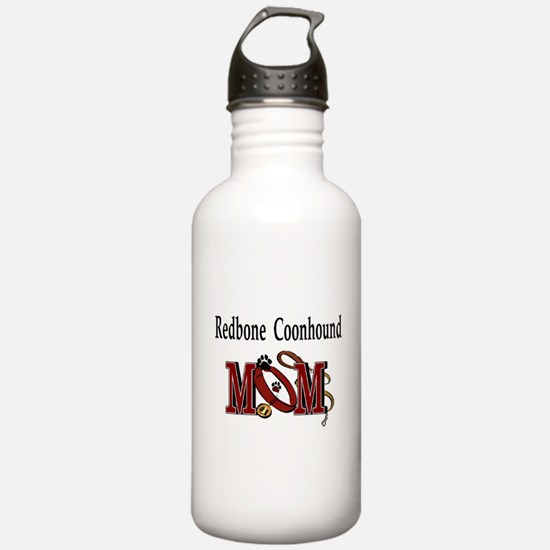 Redbone Coonhound Mom Water Bottle