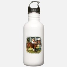 4-H Straw hat Cowgirl(fuzzy e Water Bottle