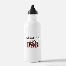 Alsation Dog Dad Water Bottle