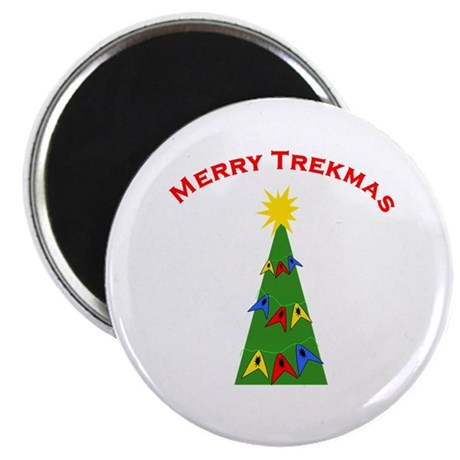"Merry Trekmas 2.25"" Magnet (100 pack)"