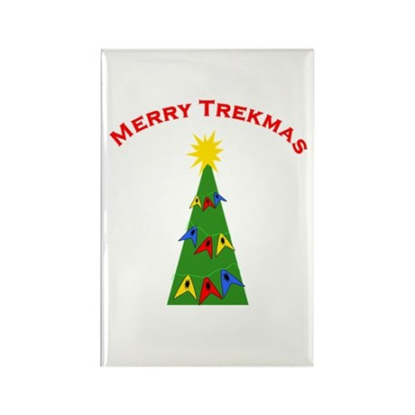 Merry Trekmas Rectangle Magnet (100 pack)