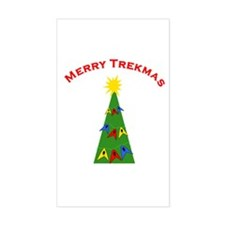 Merry Trekmas Decal