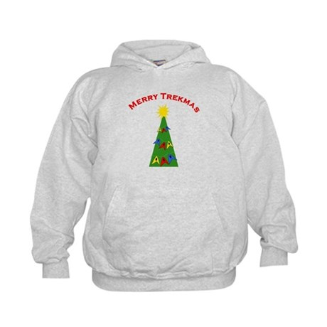 Merry Trekmas Kids Hoodie