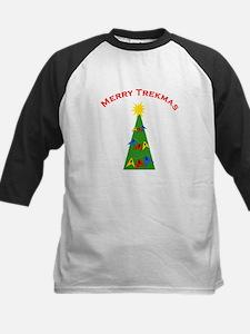 Merry Trekmas Kids Baseball Jersey