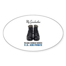 My Grandmother Oval Decal