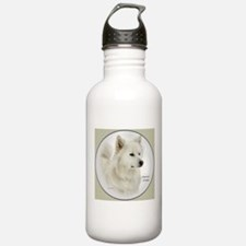 American Eskimo Dog Sports Water Bottle