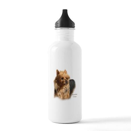 Australian Terrier Art Stainless Water Bottle 1.0L