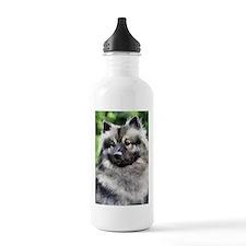 Keeshond Art Water Bottle
