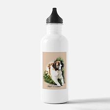 Saint Bernard Art Water Bottle