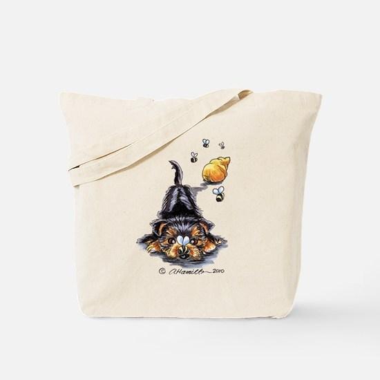 Bee Yorkie Lover Tote Bag