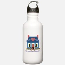 Home Is American Foxhound Water Bottle