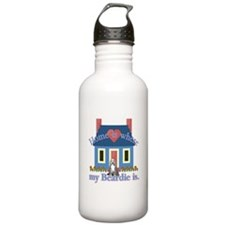 Bearded Collie Home Water Bottle