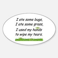 I ate some bugs Decal