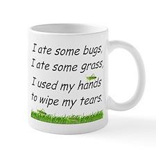 I ate some bugs Small Mug