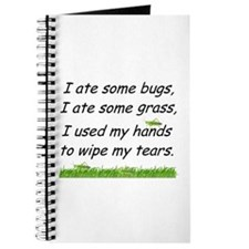 I ate some bugs Journal