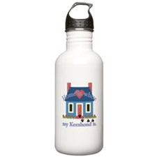 Keeshond Gifts Water Bottle