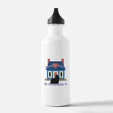 Home Is Komondor Water Bottle