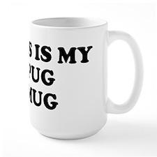 Black Pug Mug Mug
