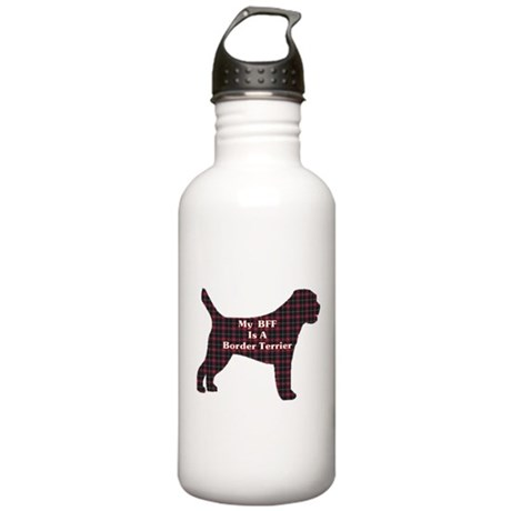 BFF Border Terrier Stainless Water Bottle 1.0L