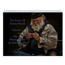 Faces Of Venice Beach Vol. 1 Wall Calendar