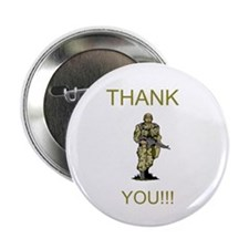 "Thank You - gold 2.25"" Button (10 pack)"