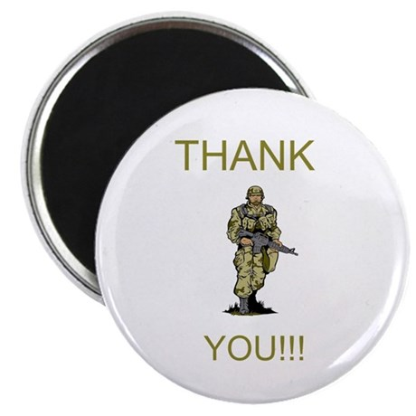 Thank You - gold Magnet