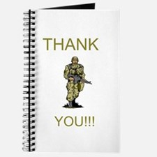 Thank You - gold Journal