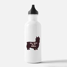 BFF Silky Terrier Water Bottle