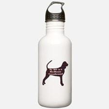 BFF Redbone Coonhound Water Bottle