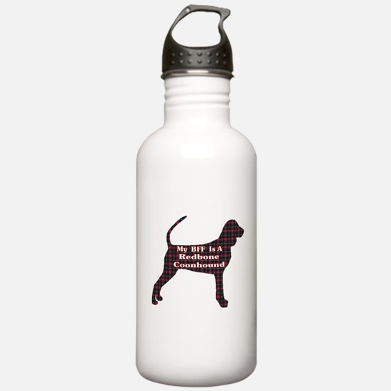 BFF Redbone Coonhound Water Bottle
