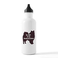 BFF American Eskimo Sports Water Bottle