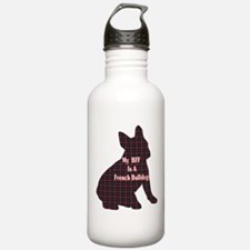 BFF French Bulldog Water Bottle