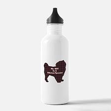 BFF Tibetan Spaniel Water Bottle