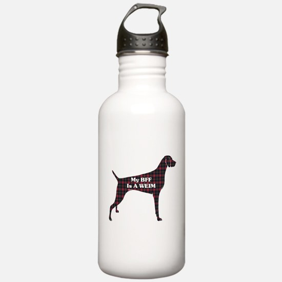 BFF Weimaraner Water Bottle