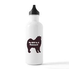 BFF Samoyed Water Bottle
